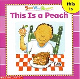 Sight Word Readersのセット絵本の中の1冊です-This is a Peach